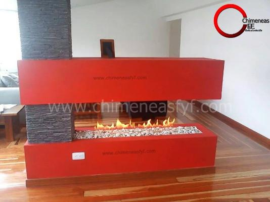 Chimeneas a gas natural propano zipaquir - Chimeneas gas natural ...